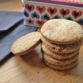 Spiced Rye Cookies