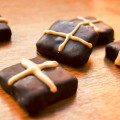 Hot Cross Cardamom Chocolates