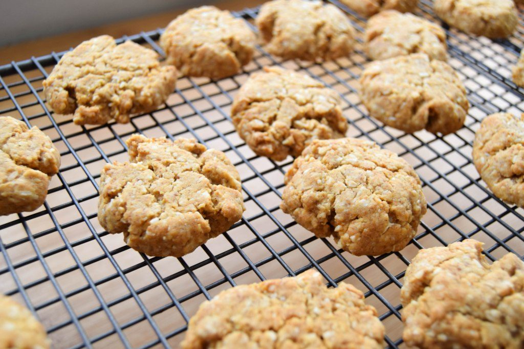 Cardamom Anzac Biscuits