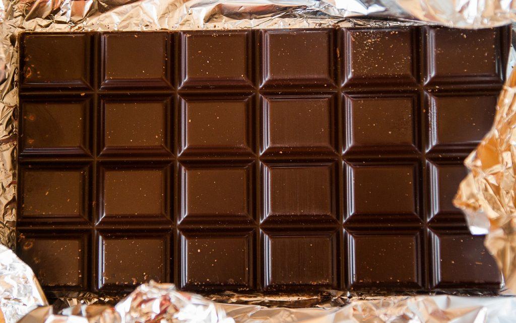Uplifting aroma of chocolate