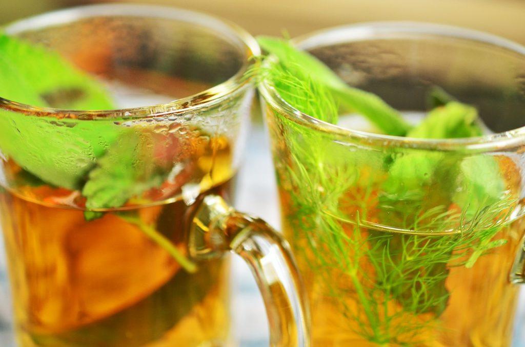 Uplifting aroma of mint