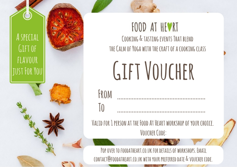 Food At Heart Gift Voucher
