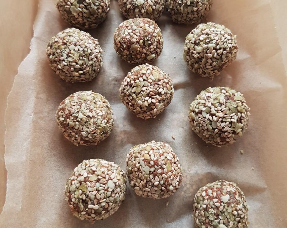 pumpkin cacao balls