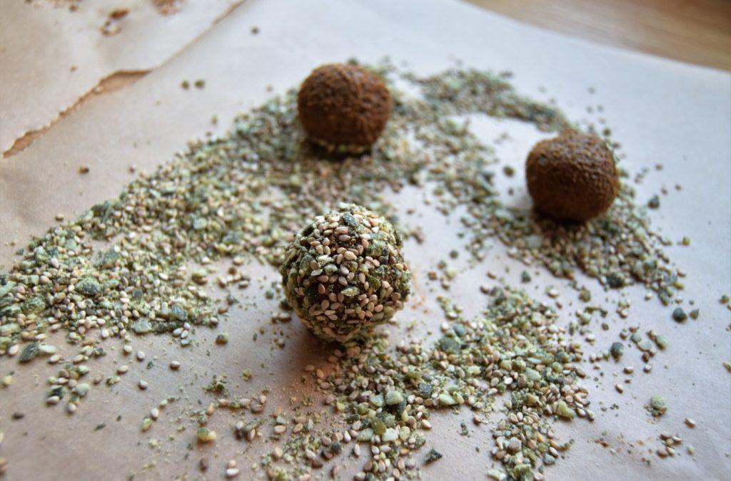 Halloween Pumpkin Cacao 'Kapow' Balls