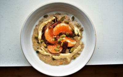 Get warm with 3 autumn porridge recipes