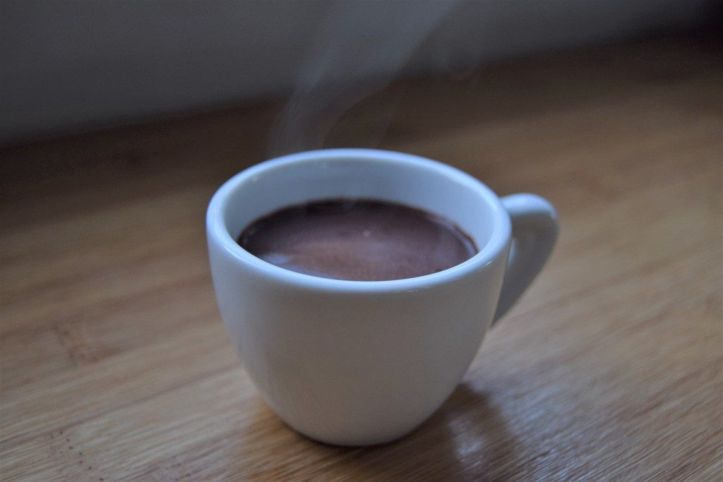 Hot Mulled Chocolate