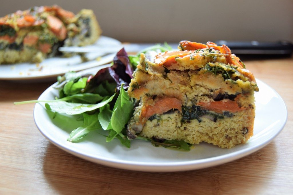 Cake Recipes Using Vegetable Oil Uk: Layer Up: Savoury Vegetable Cake