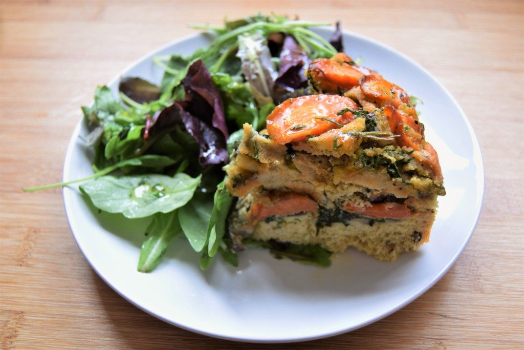 Savoury Vegetable Cake