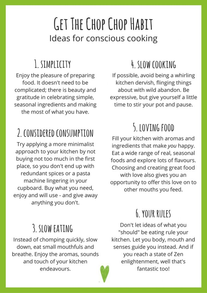 conscious cooking