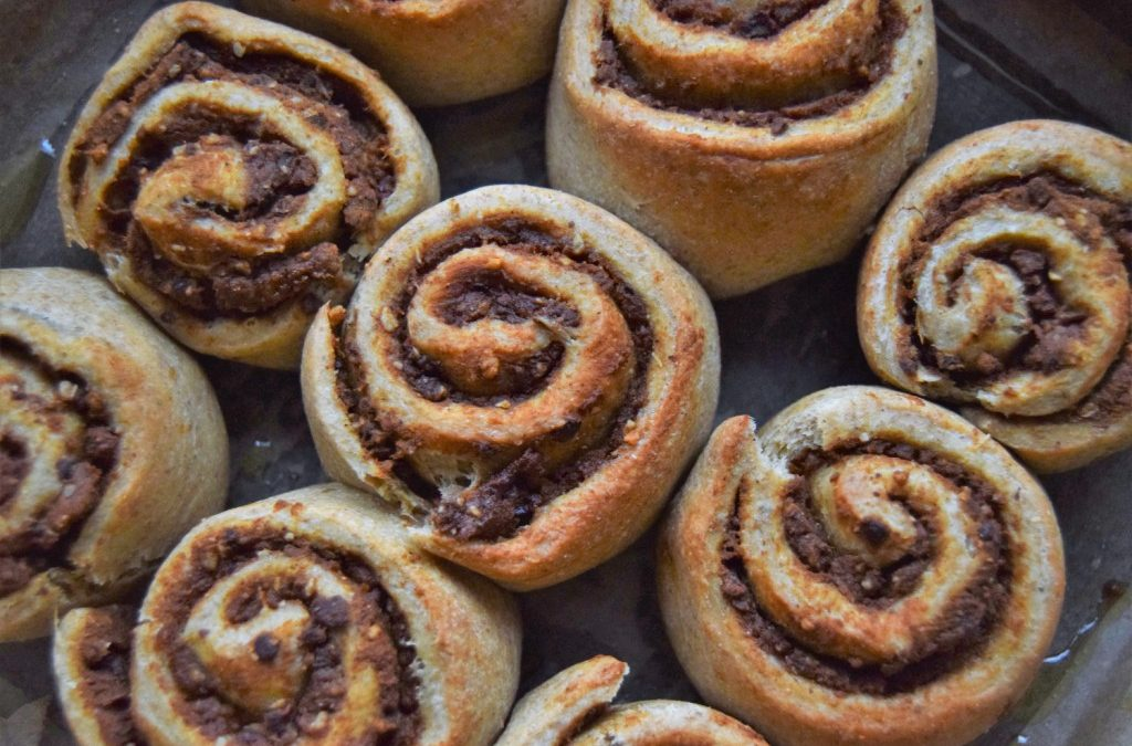 All I want for Christmas: Pumpkin Cinnamon Rolls
