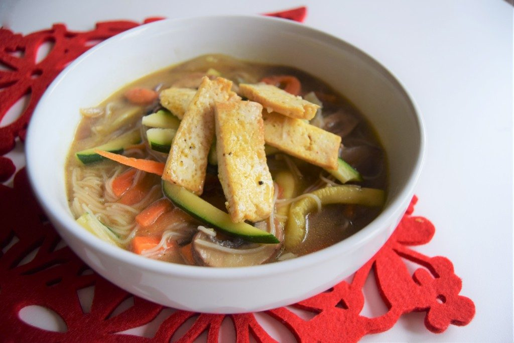 Ginger Miso Noodle Broth