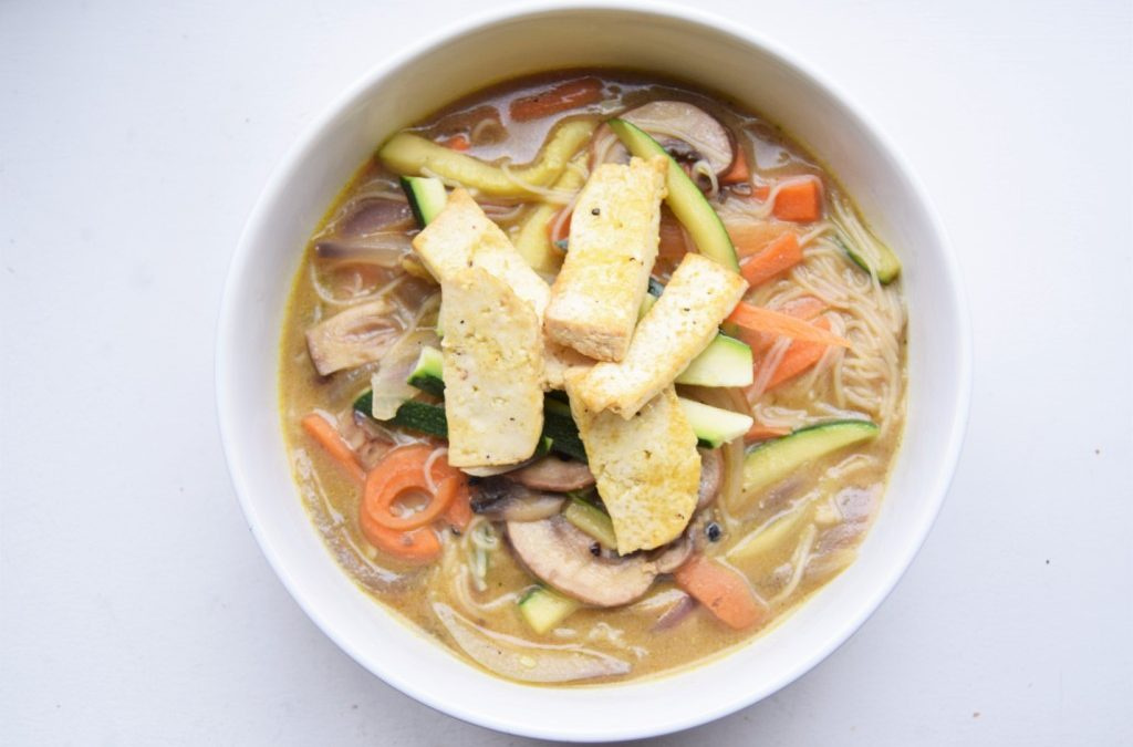 Gingery Miso Noodle Broth