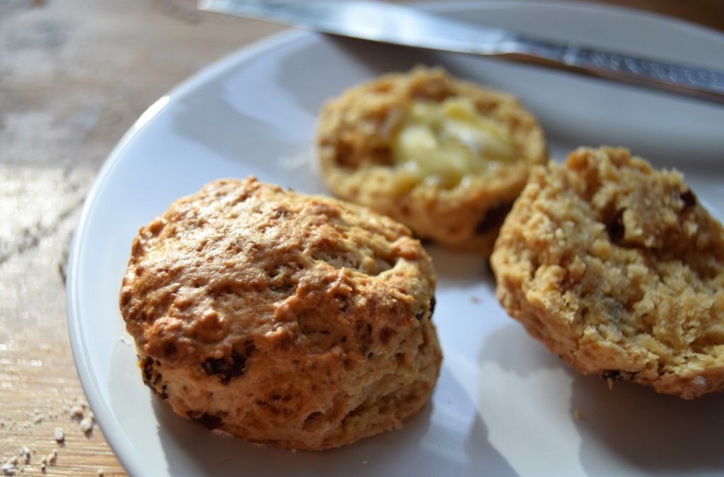 Earl Grey Spelt Scones for Afternoon Tea Week