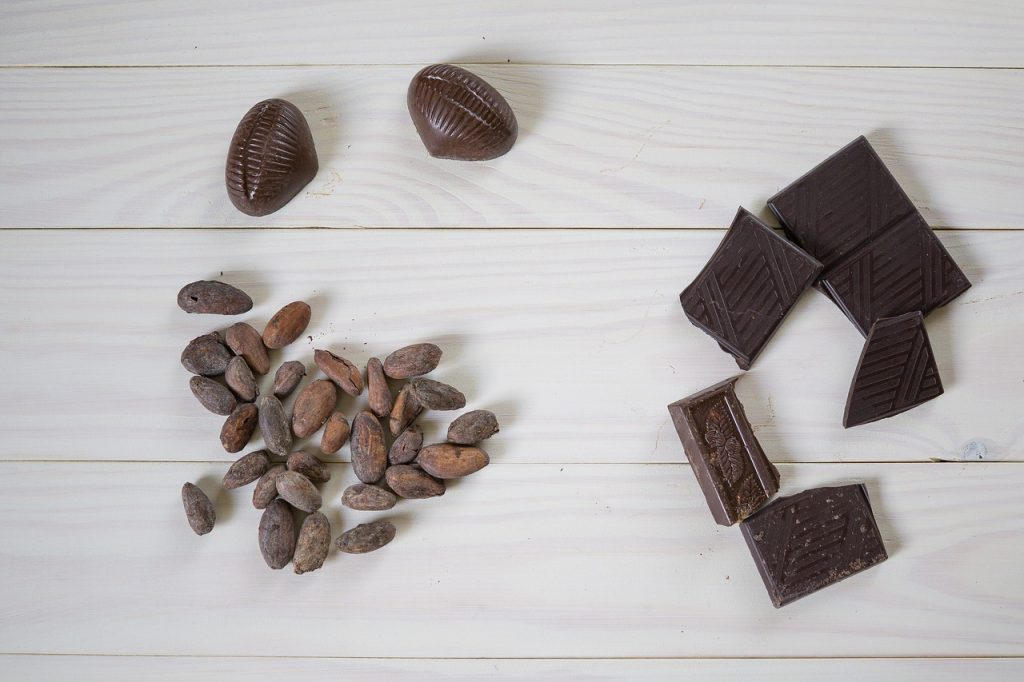 mindful eating and chocolate