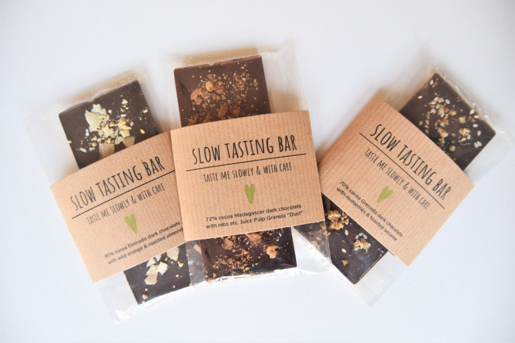 Slow Chocolate Christmas Bar Trio
